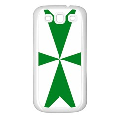 Cross of Saint Lazarus Samsung Galaxy S3 Back Case (White)
