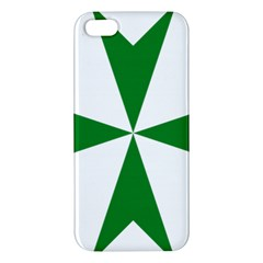 Cross of Saint Lazarus iPhone 5S/ SE Premium Hardshell Case