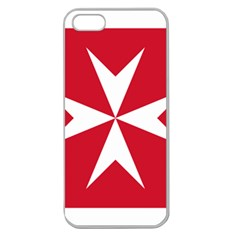 Civil Ensign of Malta Apple Seamless iPhone 5 Case (Clear)