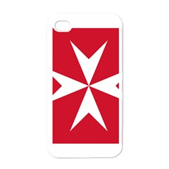 Civil Ensign of Malta Apple iPhone 4 Case (White)