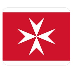 Civil Ensign of Malta Double Sided Flano Blanket (Small)