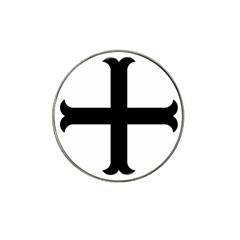 Cross Moline Hat Clip Ball Marker