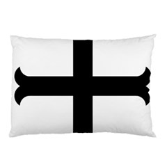 Cross Moline Pillow Case (two Sides)