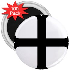 Cross Molin 3  Magnets (100 pack)