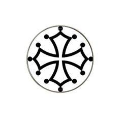Occitan Cross\ Hat Clip Ball Marker