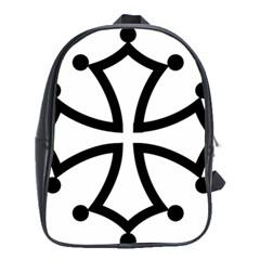 Occitan Cross School Bags (XL)