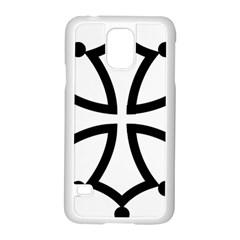 Occitan Cross Samsung Galaxy S5 Case (White)