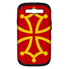 Flag of Occitania Samsung Galaxy S III Hardshell Case (PC+Silicone)