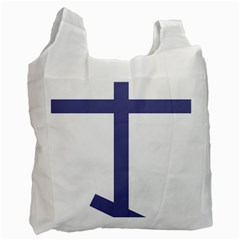 Orthodox Cross  Recycle Bag (Two Side)