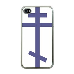 Orthodox Cross  Apple iPhone 4 Case (Clear)