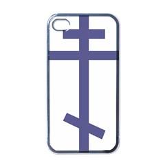 Orthodox Cross  Apple iPhone 4 Case (Black)