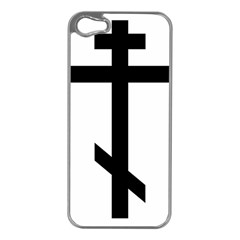 Orthodox Cross  Apple iPhone 5 Case (Silver)