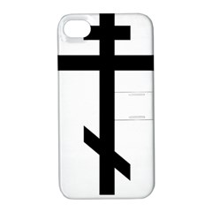 Orthodox Cross  Apple iPhone 4/4S Hardshell Case with Stand