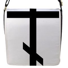 Orthodox Cross  Flap Messenger Bag (S)