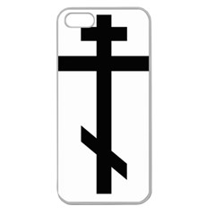 Orthodox Cross  Apple Seamless iPhone 5 Case (Clear)