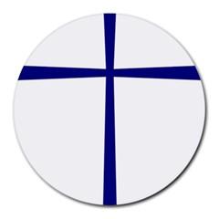 Byzantine Cross  Round Mousepads