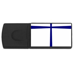 Byzantine Cross  USB Flash Drive Rectangular (2 GB)