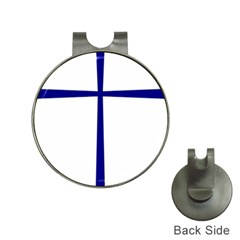 Byzantine Cross  Hat Clips with Golf Markers