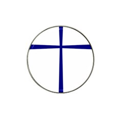 Byzantine Cross  Hat Clip Ball Marker