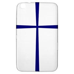Byzantine Cross  Samsung Galaxy Tab 3 (8 ) T3100 Hardshell Case