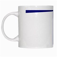 Byzantine Cross  White Mugs