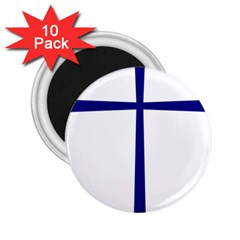 Byzantine Cross  2.25  Magnets (10 pack)