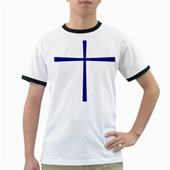 Byzantine Cross  Ringer T-Shirts