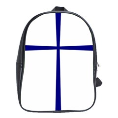 Byzantine Cross  School Bags(Large)