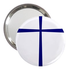 Byzantine Cross  3  Handbag Mirrors