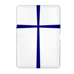 Byzantine Cross  Samsung Galaxy Tab 2 (10.1 ) P5100 Hardshell Case