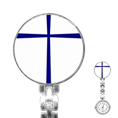 Byzantine Cross  Stainless Steel Nurses Watch
