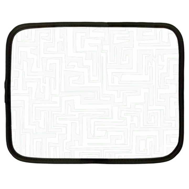 Pattern Netbook Case (XXL)