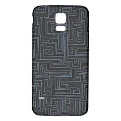 Pattern Samsung Galaxy S5 Back Case (white)