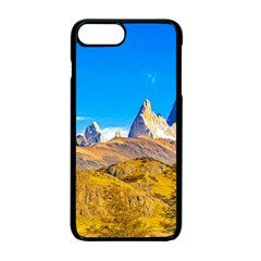Snowy Andes Mountains, El Chalten, Argentina Apple Iphone 7 Plus Seamless Case (black)