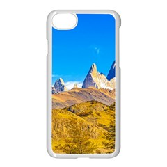 Snowy Andes Mountains, El Chalten, Argentina Apple Iphone 7 Seamless Case (white)