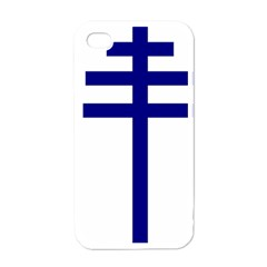 Papal Cross  Apple iPhone 4 Case (White)