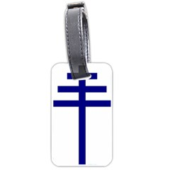 Papal Cross Luggage Tags (one Side)