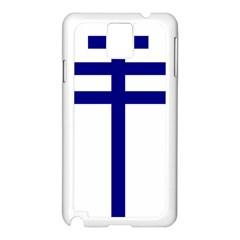 Papal cross Samsung Galaxy Note 3 N9005 Case (White)