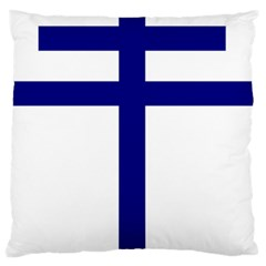Papal cross Standard Flano Cushion Case (Two Sides)