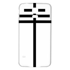 Papal Cross  Samsung Galaxy S5 Back Case (White)