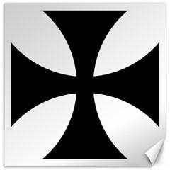 Cross Patty  Canvas 12  x 12