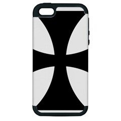 Cross Patty  Apple iPhone 5 Hardshell Case (PC+Silicone)