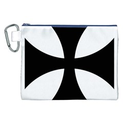Cross Patty  Canvas Cosmetic Bag (XXL)