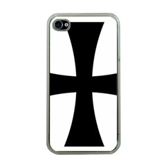 Cross Patty Apple iPhone 4 Case (Clear)