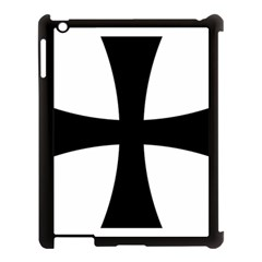 Cross Patty Apple iPad 3/4 Case (Black)