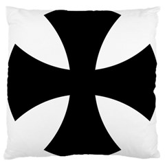 Cross Patty  Large Cushion Case (Two Sides)