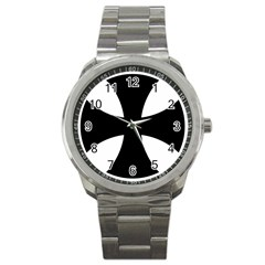 Cross Patty Sport Metal Watch