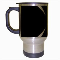 Cross Patty  Travel Mug (Silver Gray)
