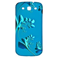 Amazing Floral Fractal A Samsung Galaxy S3 S III Classic Hardshell Back Case