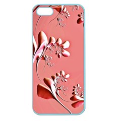 Amazing Floral Fractal B Apple Seamless iPhone 5 Case (Color)